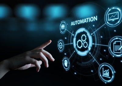 Concept dentreprise du systeme de processus de technologie des logiciels dautomatisation.