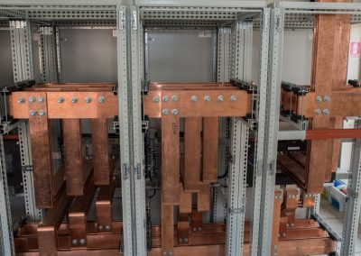 High power electric board with copper bar